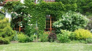 Le jardin de l'Ermitage du Rebberg