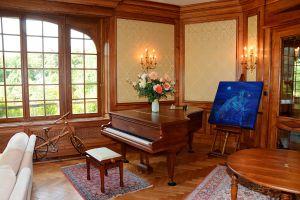 Le salon de musique de l'Ermitage du Rebberg