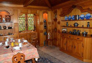 Petit-Déjeuner dans la Stub de l'Ermitage du Rebberg