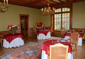 La salle-à-manger de l'Ermitage du Rebberg