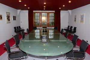 La salle-de-conférence de l'Ermitage du Rebberg
