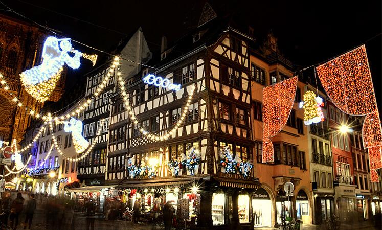 Noël à Strasbourg, Alsace