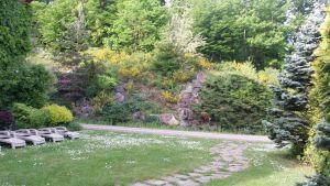 La rocaille de l'Ermitage du Rebberg