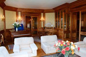 Salon-bibliothèque à l'Ermitage du Rebberg